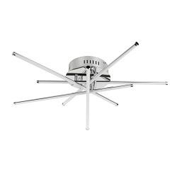 Moderne LED plafondlamp Star chroom