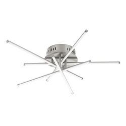 Design plafondlamp Star LED staal