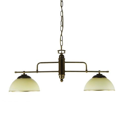 Hanglamp klassiek voor eettafel brons