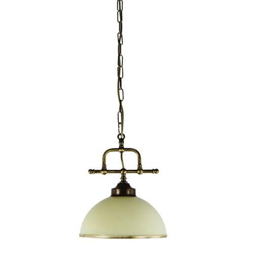 *Hanglamp klassiek brons keuken