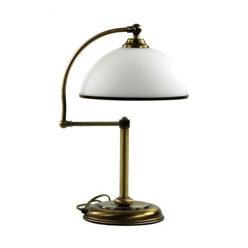 *Klassieke tafellamp brons