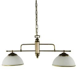 *Hanglamp klassiek eettafel brons