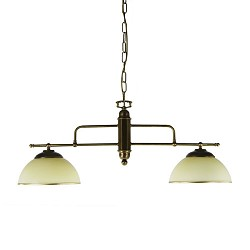 *Hanglamp klassiek voor eettafel  brons