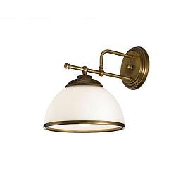 *Wandlamp klassiek brons hal/woonkamer