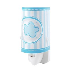 *Kinder nachtlampje LED wolk blauw