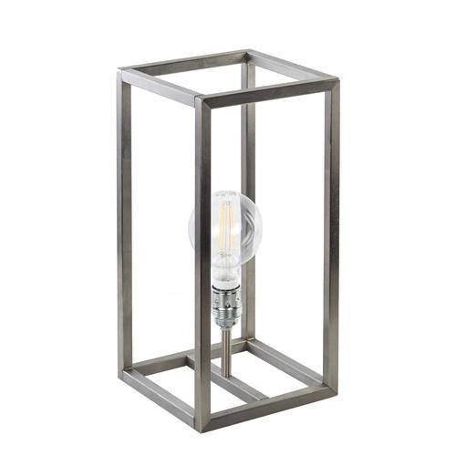 Tafellamp opengewerkt frame rvs