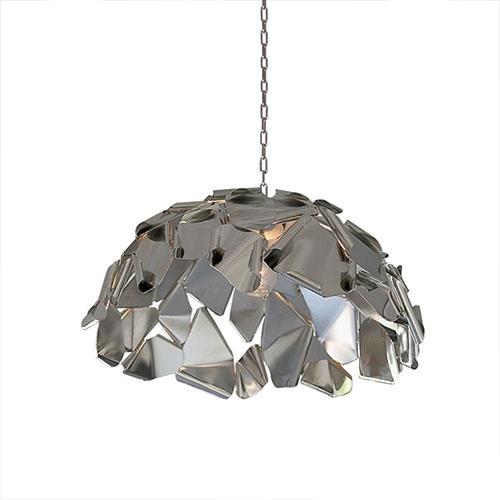 Hanglamp koepel rvs design