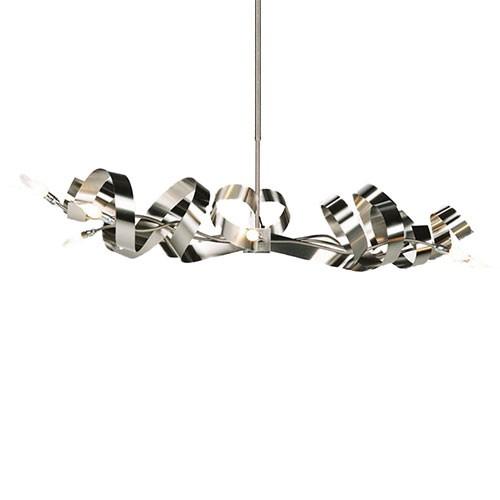 **Hanglamp RVS design top boven eettafel