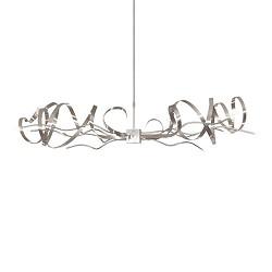 Unieke rvs hanglamp voor eettafel/bar