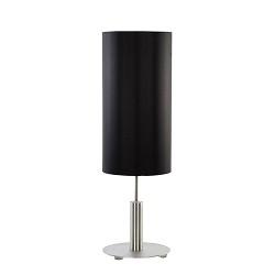 **Statige tafellamp cilinder zwart