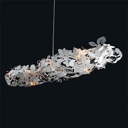 Hanglamp bloem wit nederlands ontwerp