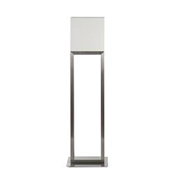 **Design vloerlamp RVS met vierkante kap