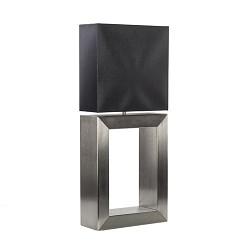 **Tafellamp strak zwart design