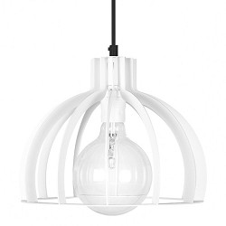 Industriele design hanglamp wit hal-wc