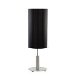 *Statige tafellamp cilinder zwart