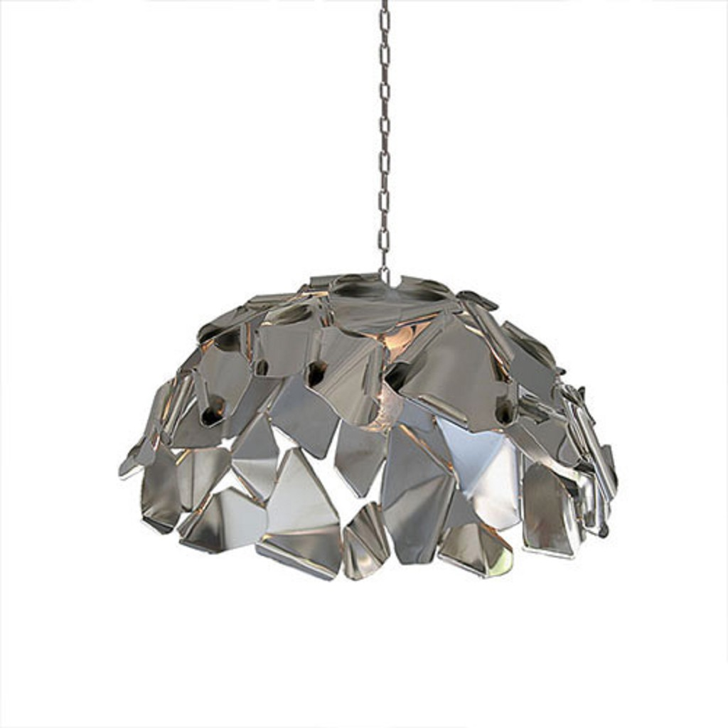 Hanglamp koepel rvs design