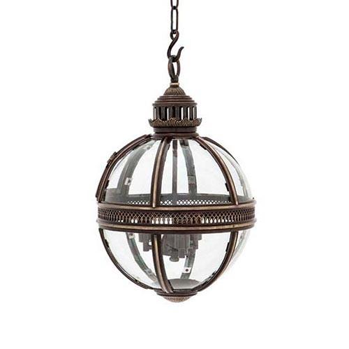 Hanglamp residential brons hal woonkamer