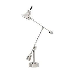 **Bureaulamp Art verstelbaar zilver
