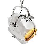 *Hanglamp spot old design zilver