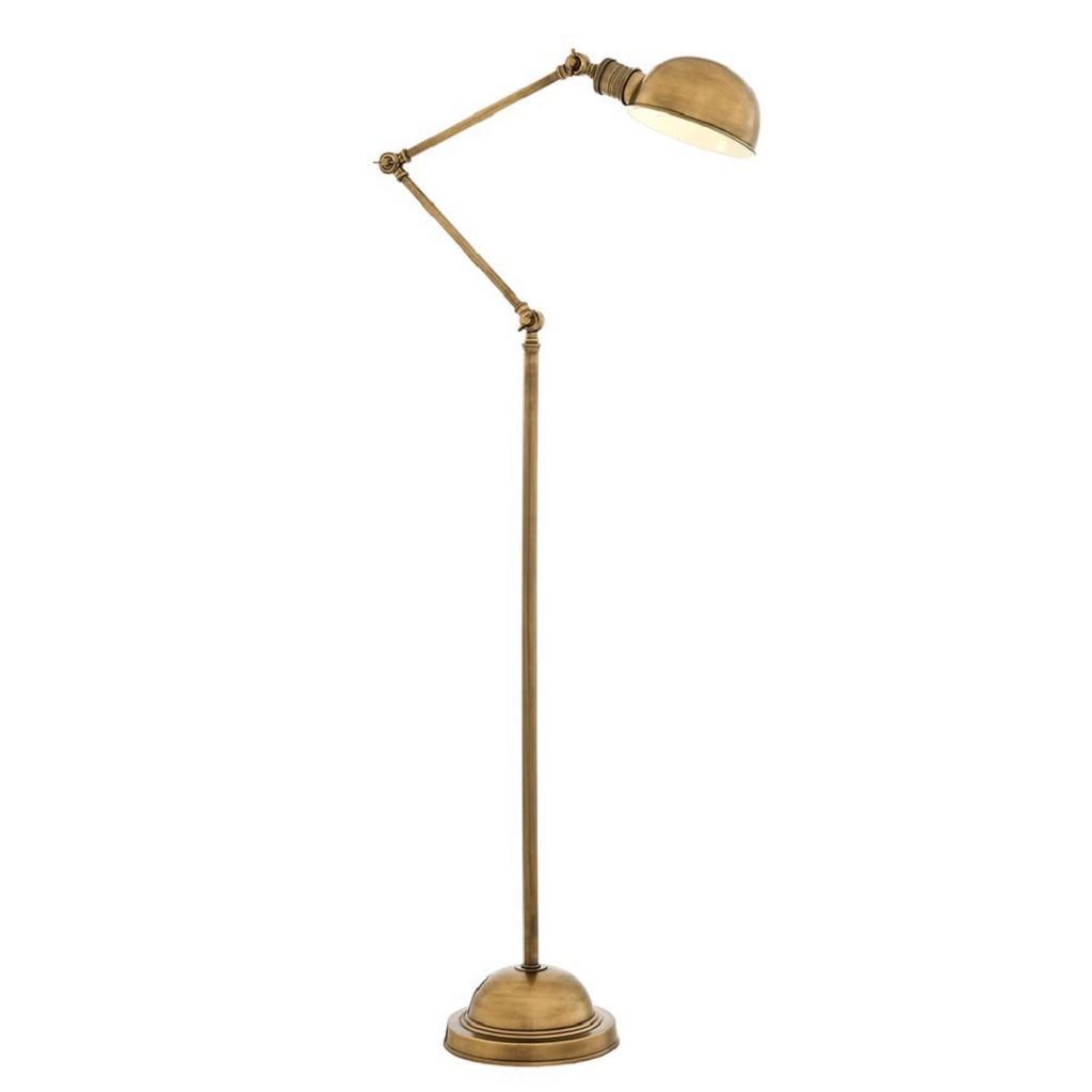 Klassieke leeslamp old design brons