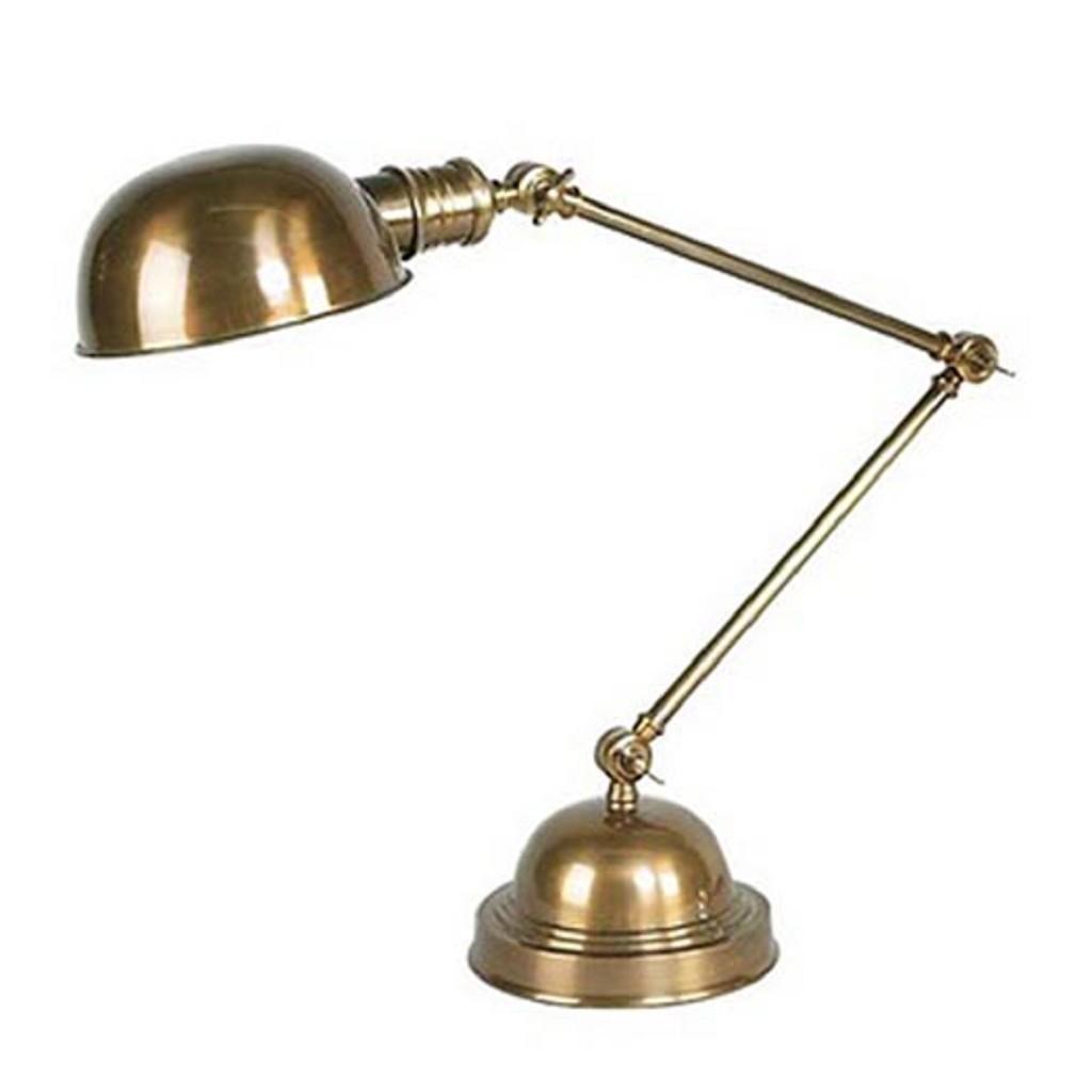 Tafellamp soho brons klassiek
