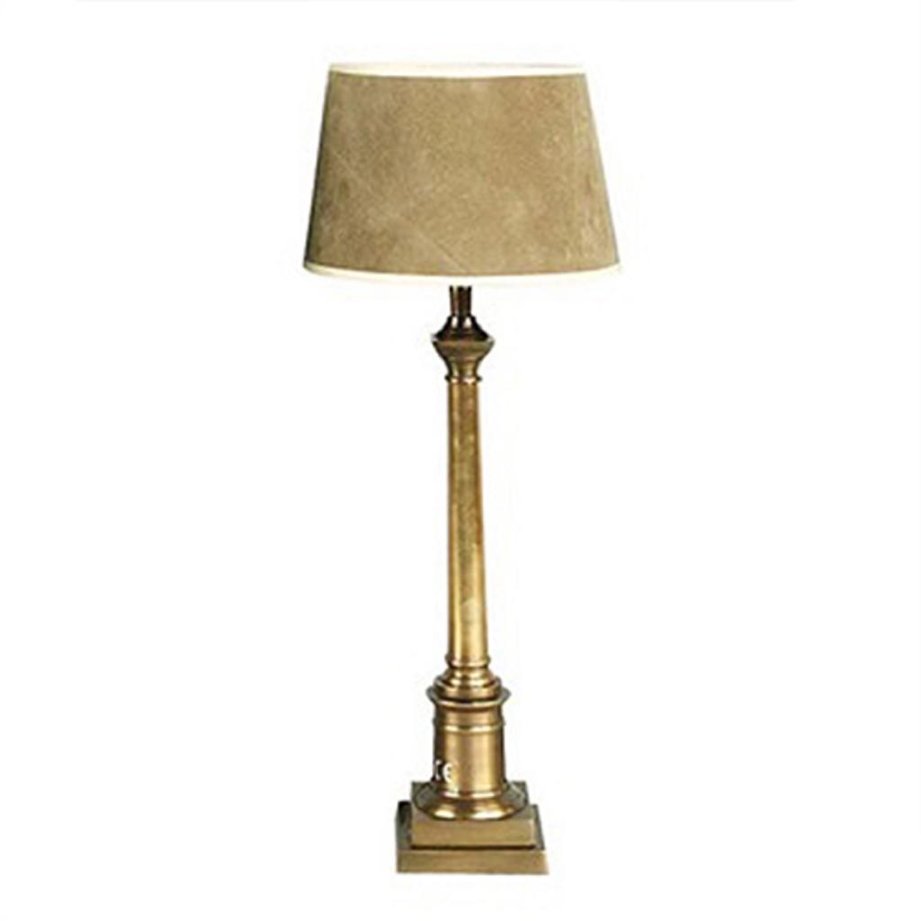 **Klassieke tafellamp cologne brons
