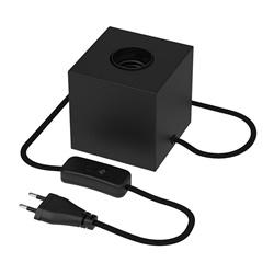 Calex tafelarmatuur kubus mat zwart