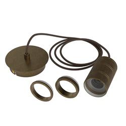 Calex Retro pendel 1,5 m E27 brons