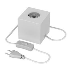 Calex tafelarmatuur kubus mat wit