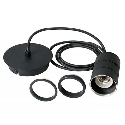 Calex Retro pendel E27 zwart