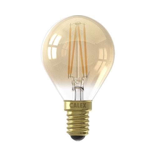 Calex E14 LED gold 200 lumen dimbaar