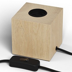Calex tafelarmatuur hout