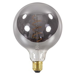 Led 4w e27 globe 125mm smoke dimbaar