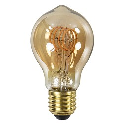 Dimbare LED lamp 4 watt gold A60 E27
