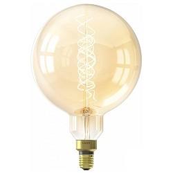 Calex LED Gold 240V 4W E27 2100K dimb