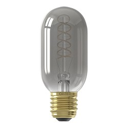 Calex led 4w e27 buis t45 titanium