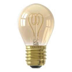 Calex E27 LED Kogellamp met spiraal gold dimbaar
