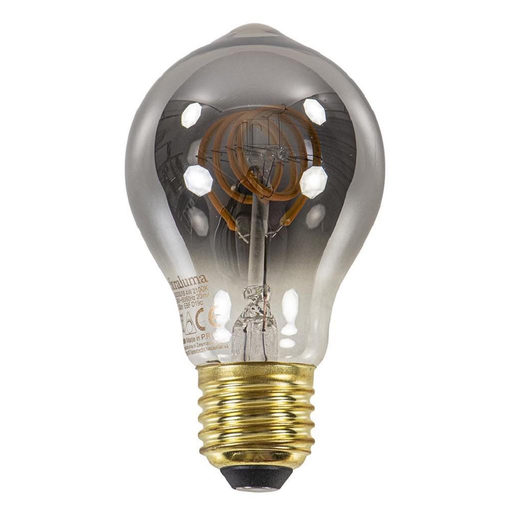 Dimbare LED lamp 4 watt smoke A60 E27