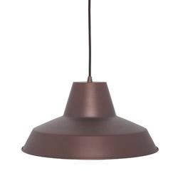 Bruine hanglamp industrieel voor in de keuken-hal