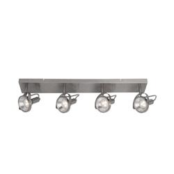 Moderne plafondbalk LED spots staal