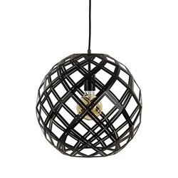 Hanglamp bol zwart open frame 40cm