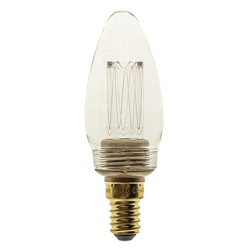 E14 LED kaars helder 3-standen dimbaar 2000K