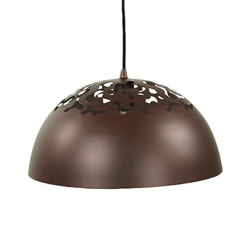**Opengewerkte hanglamp bruin Bella