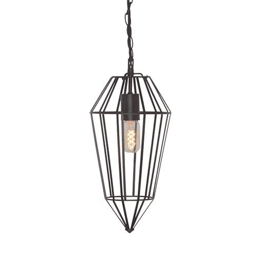 *Moderne draad hanglamp zwart keuken-h