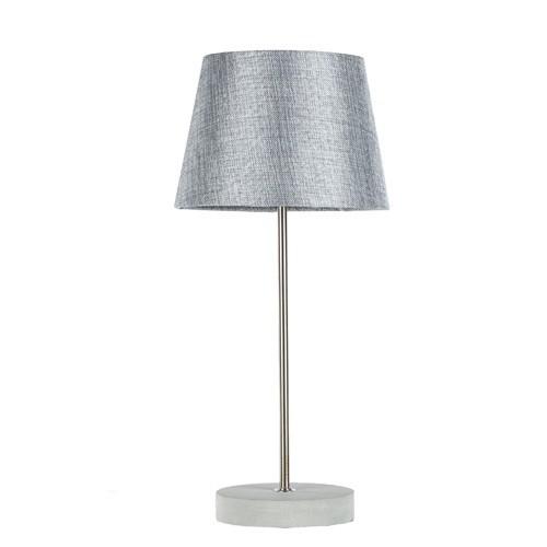 Tafellamp betonvoet met grijze kap