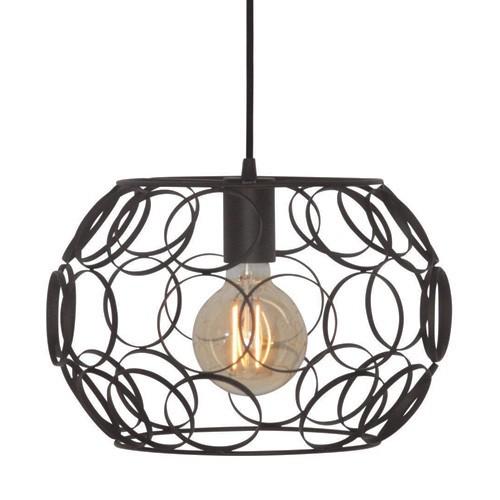 Zwarte hanglamp scandinavisch cirkels