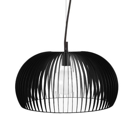 Zwarte scandinavische design hanglamp