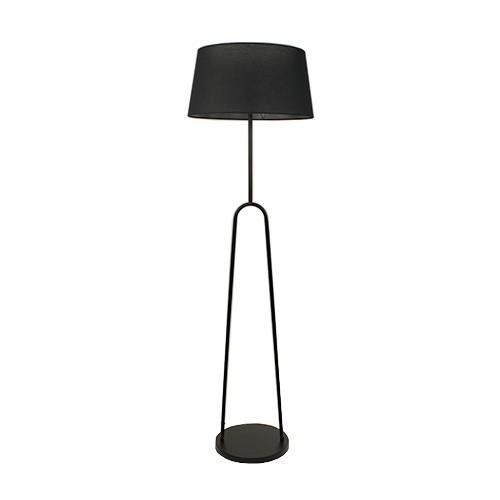 *Scandinavische vloerlamp modern zwart