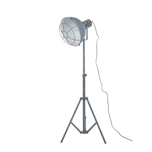 *Industriële vloerlamp betonlook driepo