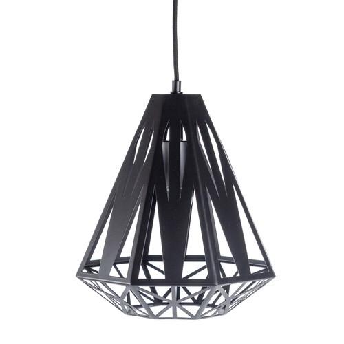 grafische hanglamp zwart woonkamer straluma
